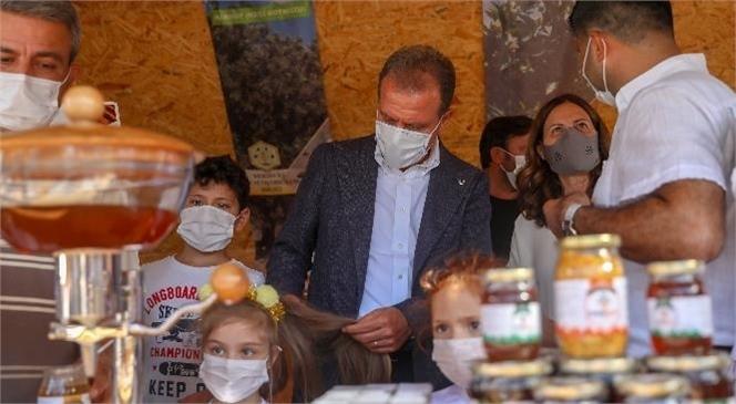 """Mersin'de Karakovan ve Petek Konseptinde """"Bal Evi""""! Arı Ürünleri Üreticilerinin Hayali Gerçek Oldu"""