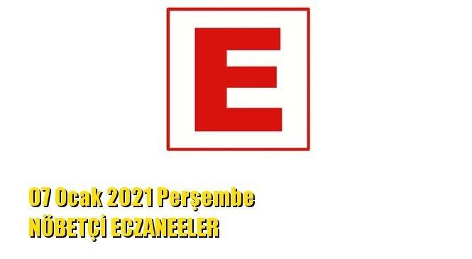 Mersin Nöbetçi Eczaneler 07 Ocak 2021 Perşembe